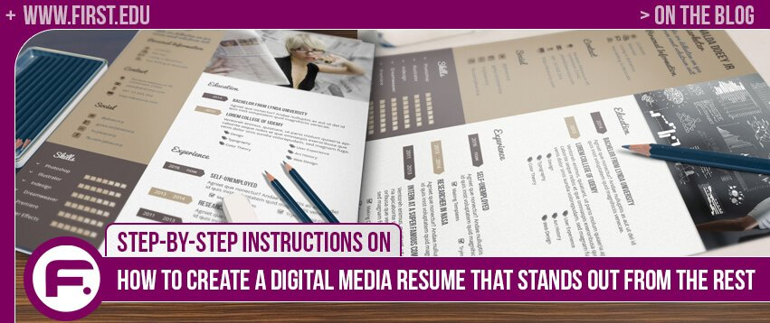 STEP BY STEP INSTRUCTIONS ON HOW TO CREATE A DIGITAL MEDIA RESUME THAT STANDS  OUT FROM  Resume That Stands Out