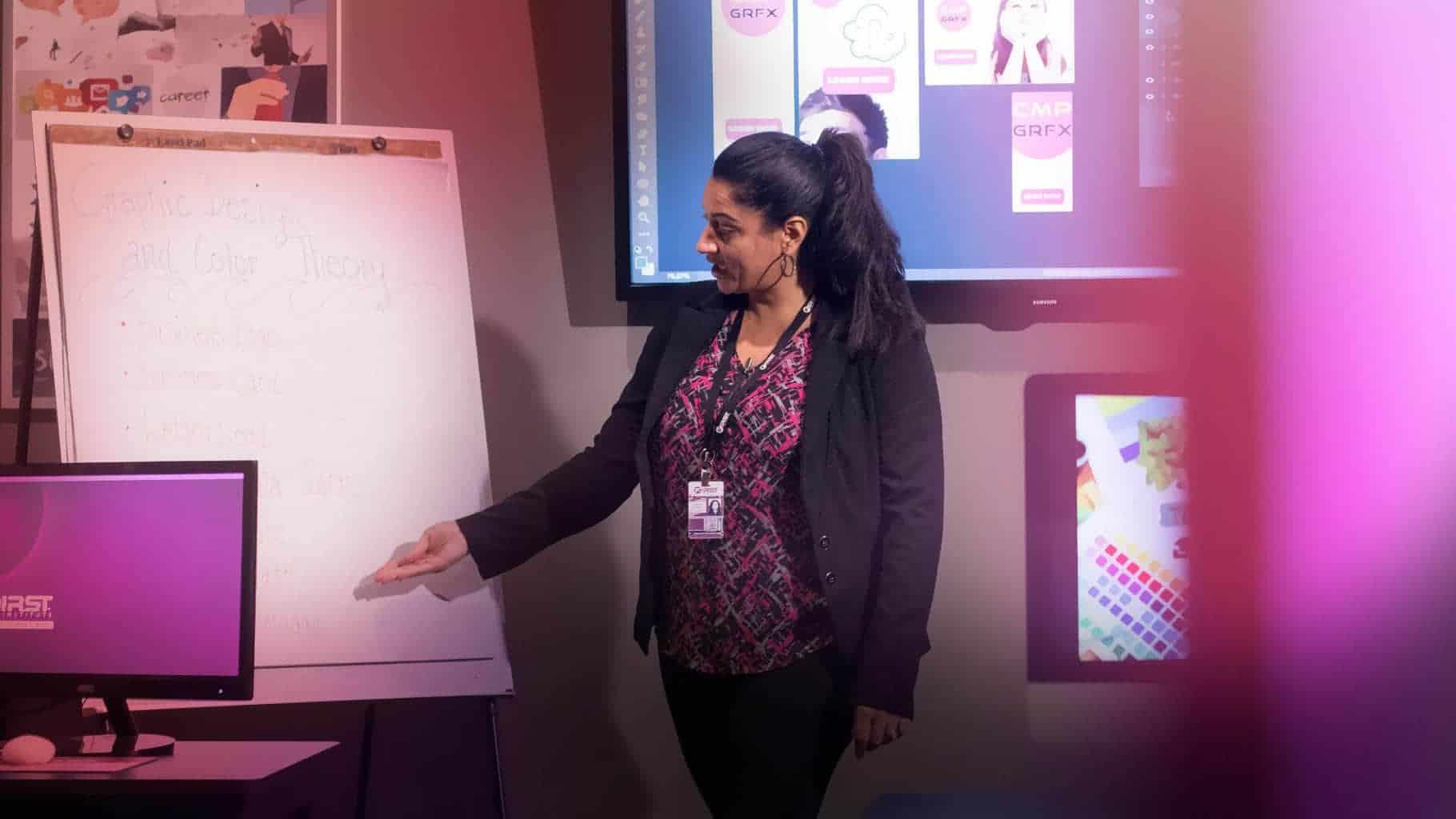 Web & Graphic Faculty Spotlight: Catherine Perez