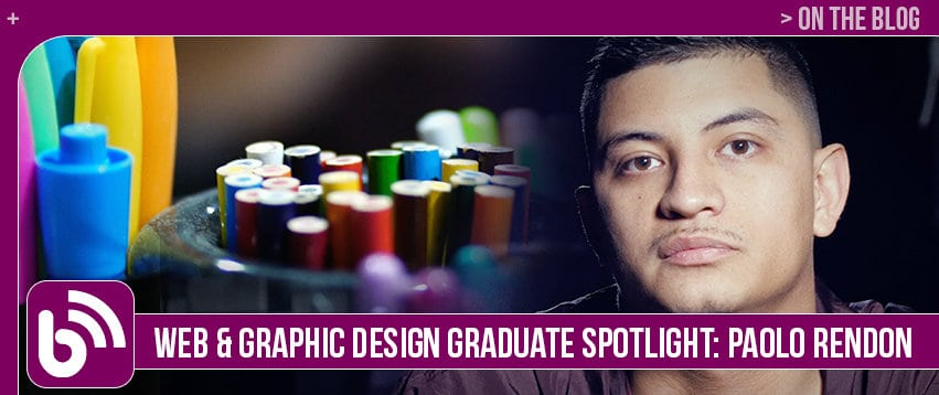 Paolo Rendon: Graduate Spotlight – Graphic Design & Web Development
