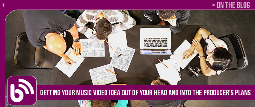 Getting Your Music Video Idea Out of Your Head and Into the Producer's Plans