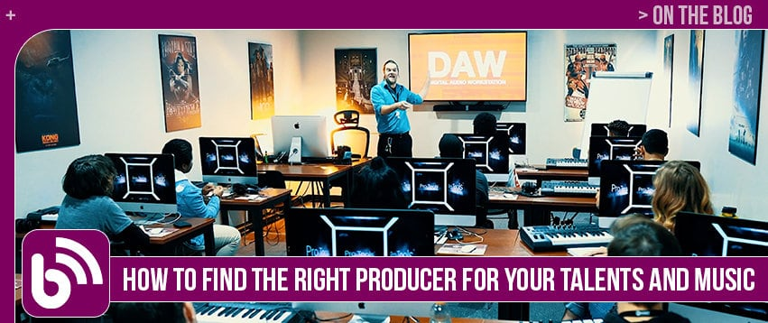 How to Find the Right Producer for Your Talents and Music