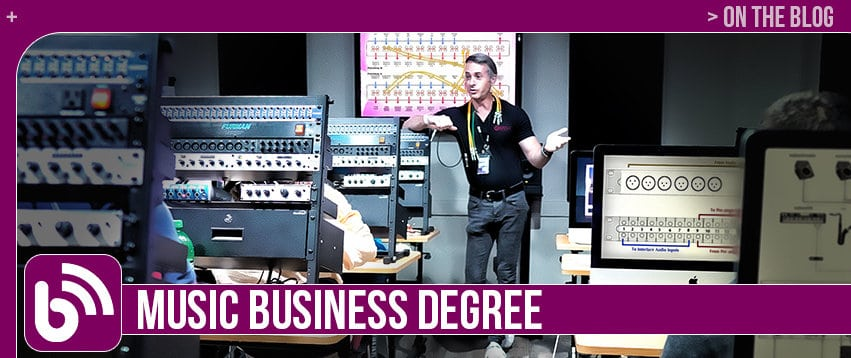 Music Business Degree