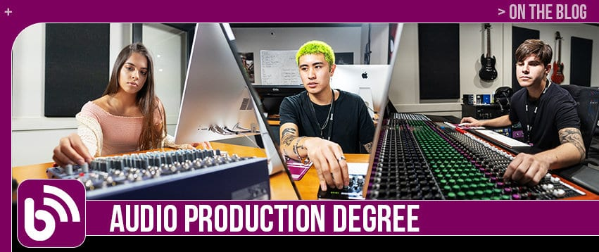 Audio Production Degree