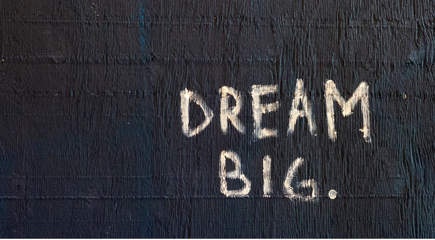 Successful artists have one thing in common: they have big dreams!