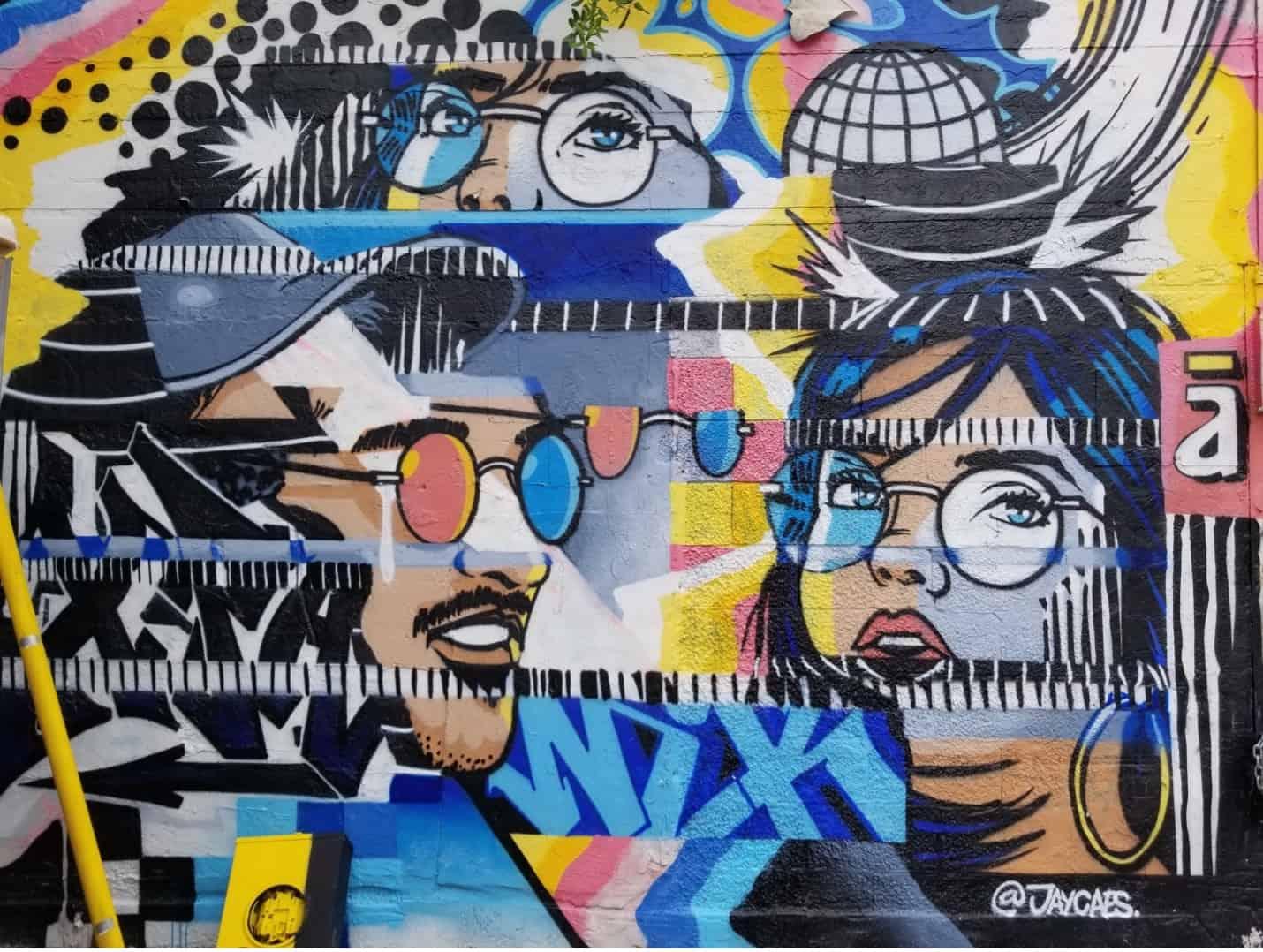 Pop art is an art movement that enjoys widespread popularity even today.