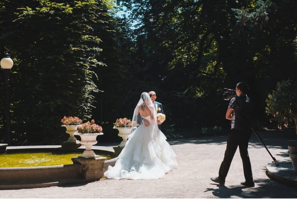 A well-made wedding video can leave the newlyweds in tears!