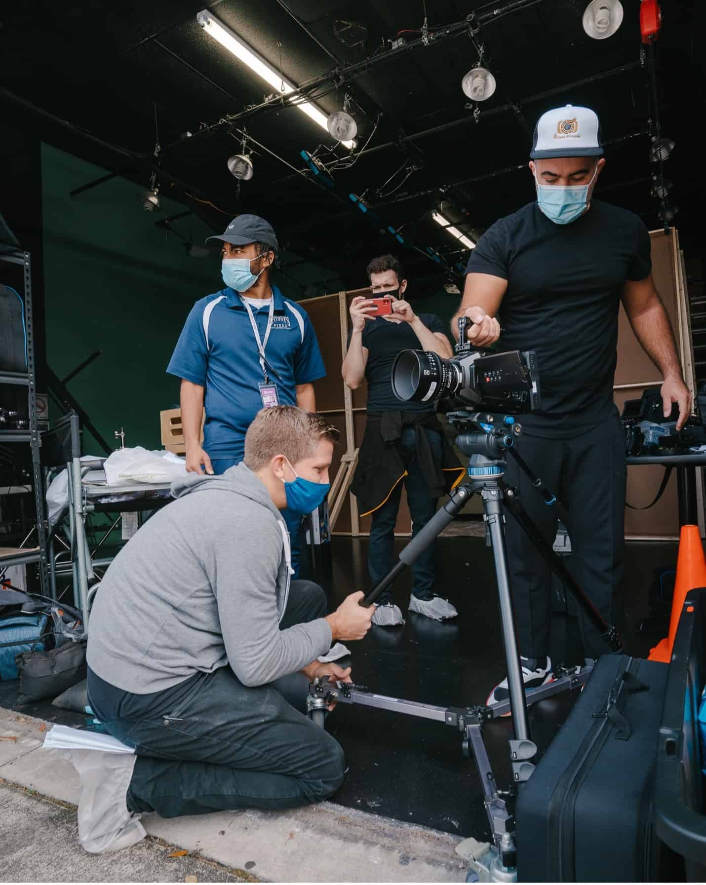 Consider renting or borrowing equipment from a friend if it's your first time directing.